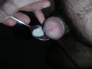 This is my precum i swallow it,mmm