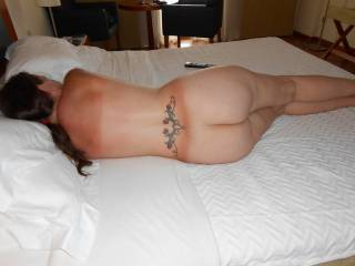 wife\'s fat arse