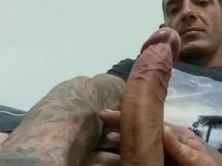 Big cock, self shot