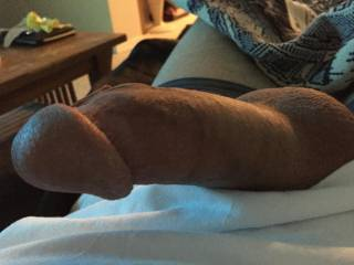 Stroking while on couch
