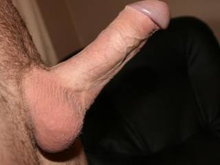 I bet that nice, thick, hard cock tastes and feels great.  Mind if I borrow it sometime(^_~)