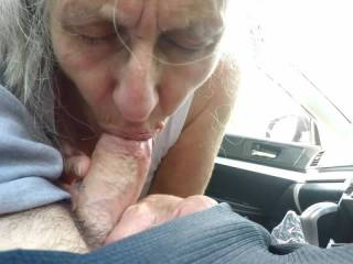Met up with an old friend after many years of being apart. She wanted to show me a good time and as you can see she was amazing. One of the few women I've met in my life who is proud of her cocksucking skills. Enjoy and leave us lots of comments.