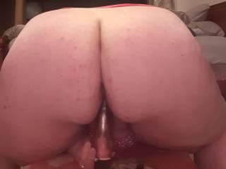 Big booty riding my dildo