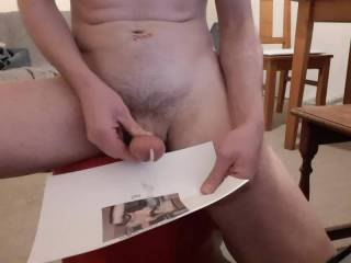 just another tribute right? the vid; And yes, I shot over the pic at first, needed to clean the carpet