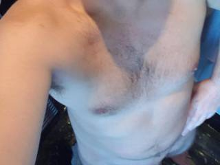 Would you dry me off, or suck me off?