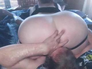 In a 69 recently her talented mouth was doing it's magic on my cock as she rode my face my finger just happened to find its way into her sweet tight ass.