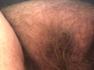 New pic of my hairy pussy