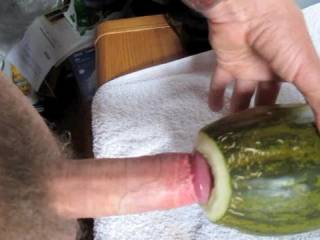 Great sucking sound.....would luv to tast your sweet cock after fucking that melon mmmmmmmmm