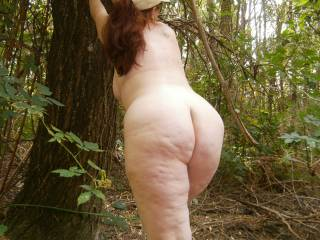 Wow! Great set of outdoor pics.  I wouldn't be able to keep my hands of you or my cock out of your.  Yummy x infinity