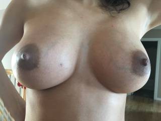 So tell me! What do you think of my pregnant titties??