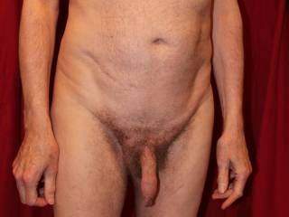 All ready for my foreskin inspection...