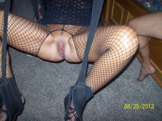 Another man took this pic of my wife's pussy before he used it to bust his nut in.
