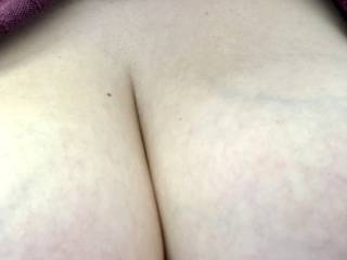 With big boobs comes big cleavage xx