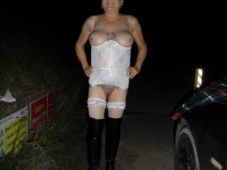 hi all please do let me know if this white outfit is ok, open to sugestions dirty comments welcome mature couple