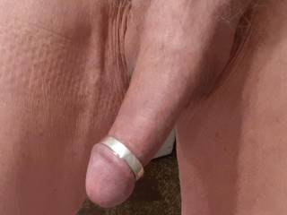 I often wear a cock ring because my cock hangs so well and since I am circumcised, it always shows  I even wear it under my speedo when I swim