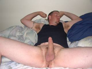 thats hot I would love to lick that from  your balls all the way up..then have you bend me over and fuck me doggy style..hmmm hot