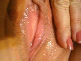 Would love a taste, then Spread those delicious lips and let me slap that hard clit with this hard throbbing cock. mmmm
