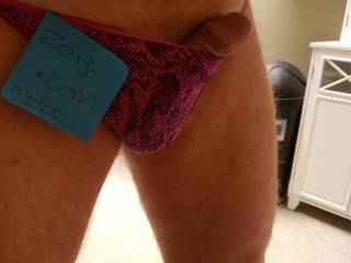 Some days only a pretty pair of panties will do