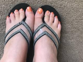 Madison's cute lil feet