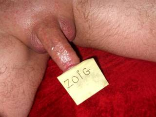 getting all smooth and sexy for DATE NITE  rubbed some vaseline on, and just couldnt help but to keep rubbing hope you like love your comments you like my use of the post it note?? LOL