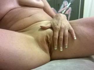Love her shaved pussy
