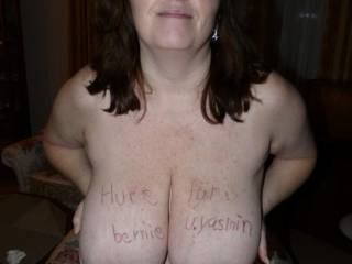 absolutely beautiful. you have the perfect set of titties for a giant bukkake