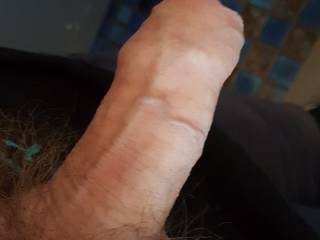 Thought I'd hang out my half hard cock looking for anybody to help with this