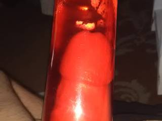 I love my penis pump and the way my hard throbbing cock feels in it