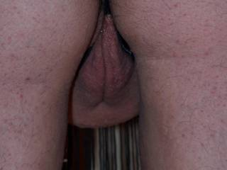 """Pic #5 from Wifey\'s """"Rear View in Heels series, extreme close-up from behind. This view really gets my cock hard... what\'s it do to you my fellow Zoigians???"""