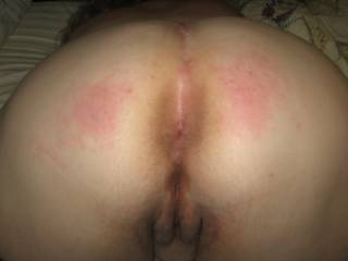 I was a bad girl. Can\'t you tell by how red my ass was?