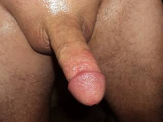 Mmmmm, i love your fresh shaved dick... Every time i see it makes me more hot and wet...