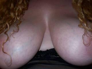 Sweet set of tits on my wife Do you like