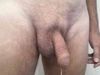I read a lot a sex stories and this is what happens. My cock starts dripping with pre cum and I am dying to have some one's mouth on it.