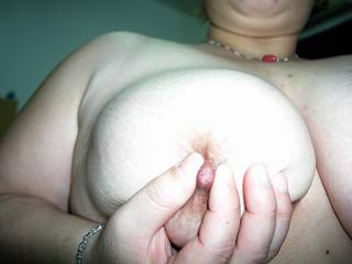 Picture of an ex gf's lovely soft tits.