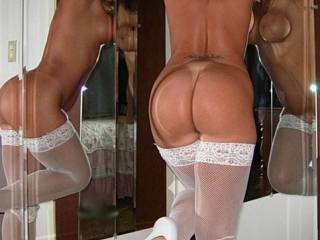 mmmm, i absolutely love it from behind! not only do you have a gorgeous body, but the perfect most inviting and fuckable/suckable ass i have EVER seen!!! I'd gladly drive up/down the coast if it means cumming into direct contact with your bare bottom! Now I've gotta go jack off for a while. . . thanks to you.