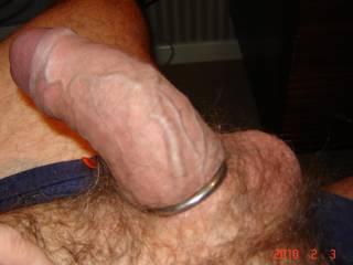 Ringed Cum ! - Cock Ring !