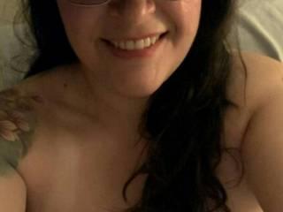 Selfie in bed