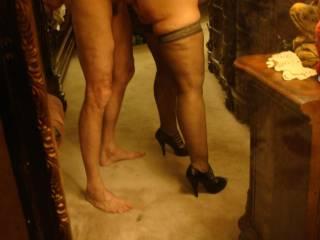omfg look at her ass/legs !!!!!!!!!!!!!!!!!!!!!!!!!!!!!high heels that looks soooooooooooooooooo hot my load all over her ass !
