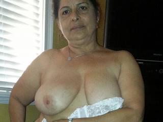 I love getting naked