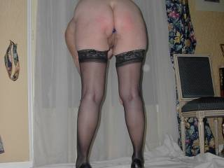 Oh my yes what a fine sexy ass and long legs I love to be behind you sexy lady mmmmm