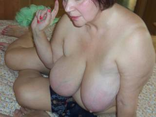 Russian mature big tits