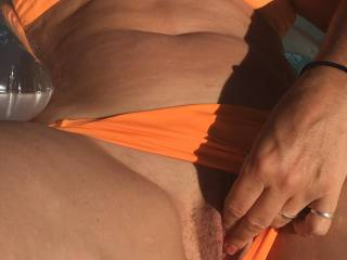 mmmm loved stroking my pussy while having a dip in the pool.......would you like to have a dip in my sexy wet pussy xo