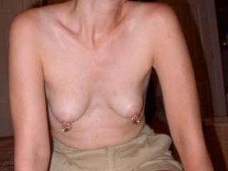 piercings make the nipples sensitive