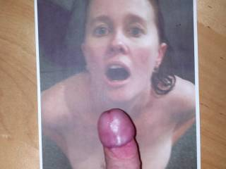 Smee69 begging for cum - I can\'t resist an open mouth and a lovely pair of tits!