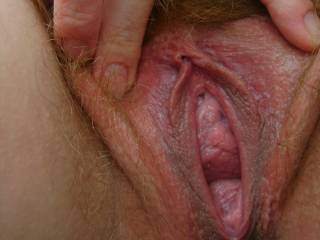 A beautiful wet pussy, who wants a taste.