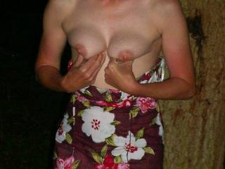 Love to see more of those tits and great nipples.
