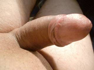 Uncut hard thick cock, it is ready to fuck!