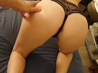 Sexy wife\'s butt