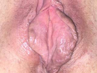 She spread her pussy lips