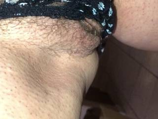 wearing my dirty panties again, they will never be washed